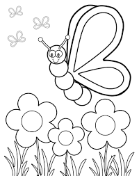 flower vines coloring page wild printable best of flower images