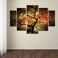 Wall Art Sets For Living Room Trademark Fine Art Japanese By Philippe Sainte Laudy 5 Panel Wall
