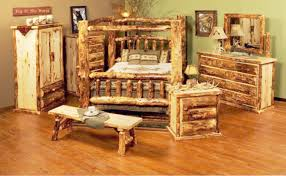 log bedroom furniture the rustic realm log bedroom furniture log bed log dresser