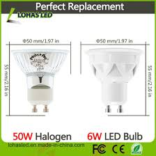 light bulb conversion to led china lohas gu10 led dimmable light bulbs 50w halogen bulb