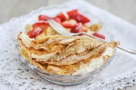 polish sweet cream cheese pancakes nalesniki fabulicious food