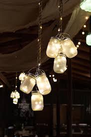 Pottery Barn Mason Jar Chandelier Led Mason Jar Lights Mason Jar Lighting Jar Lights And Ceilings