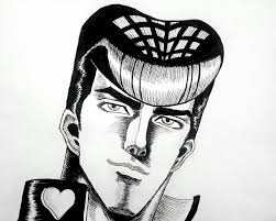 fanart continuing my fist of the north star styled drawings