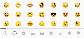 new android emojis bye bye blobs android o intros new emoji droid