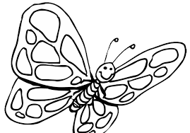 preschool coloring pages butterfly miscellaneous coloring pages