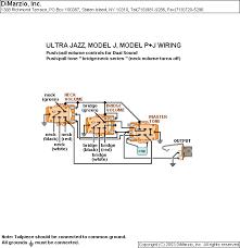 dimarzio dp123 model j vol vol tone talkbass com
