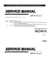 sony kdl 46 55 hx920 hx923 hx925 az2chassis service manual