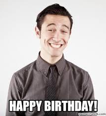 Joseph Gordon Levitt Meme - birthday