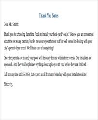 25 sample thank you letter formats