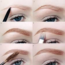 nicola kate makeup eyebrow routine pictorial clean eating