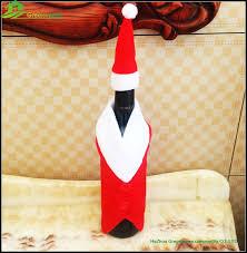 Wholesale Decorative Bottles Wholesale Christmas Holiday Items Felt Decorative Wine Bottle