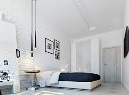 chambre avec mur en chambre mur blanc beau décorer les murs d une chambre avec des