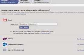 cara membuat akun gmail untuk facebook cara membuat dan daftar facebook baru cara daftar membuat email
