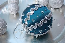 blue and silver christmas ornament u2026 u2013 the ornament