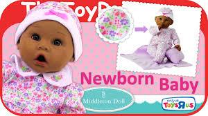 madame newborn baby middleton baby doll lavender