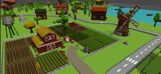 Farmhouse Kit Released Happy Cartoon Village Low Poly Kit 2 1 Mobile Ready