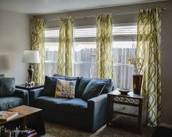 Curtain Rods For Windows Close To Wall How To Hang Curtains A Quick Tutorial Hey Let U0027s Make Stuff