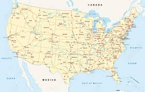 Future Interstate Highways Wikipedia United States Map And Usa Satellite Images Us Road Map Just Give
