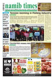 27 october namib times e edition by namib times virtual issuu