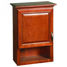 Cherry Bathroom Wall Cabinet Bathroom Cabinets Simple Cherry Finish Bathroom Wall Cabinet