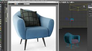 Comfortable Chair by 3dsmax Model Comfortable Chair Quickly Youtube