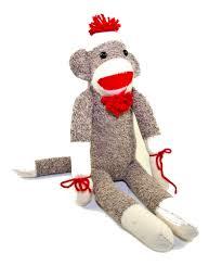Sock Monkey Baby Bedding Sock Monkey Toys Games Toys Plush Toys Cracker Barrel Old