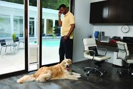 sliding glass door with doggie door petsafe freedom aluminum patio panel sliding glass pet door 76 13