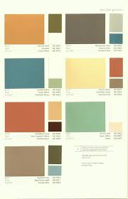 color palette for home interiors mid century modern color palette home planning ideas 2017