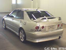 lexus altezza pictures 1999 toyota altezza silver for sale stock no 37751 japanese