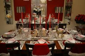 Dining Room Setting Dining Room Set Up For Holidays Contemporary Dining Room Other