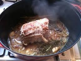 comment cuisiner le plat de cote le sublime rôti de porc aux chignons d recette ptitchef