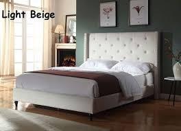 Beige Upholstered Bed 10 Best Affordable Upholstered Beds In 2017 Buyer U0027s Guide