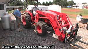 how to compact tractor pallet forks youtube
