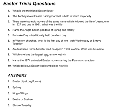 easter facts trivia auspac media the feature people