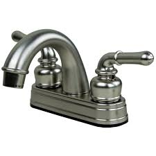 Made In Usa Kitchen Faucets by White Single Hole Mobile Home Kitchen Faucets Two Handle Pull Out