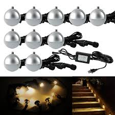 Led Low Voltage Landscape Lighting Kit Outdoor Dusk To Led Security Lights Low Voltage Outdoor