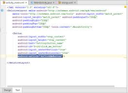 android onclick add button onclick in android studio activity beginnersheap