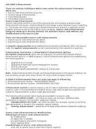 Sap Abap Workflow Resume Enhancement Implicit And Explicit Method Computer Programming