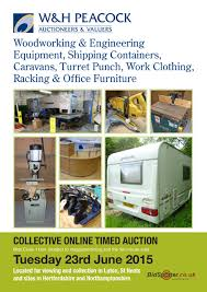 Woodworking Equipment Auction Uk by Catalogue Archive W U0026h Peacock And Locke U0026 England