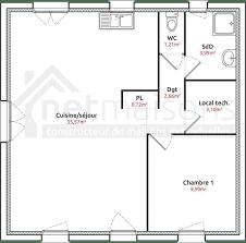 plan de maison plain pied 2 chambres plan maison plain pied 2 chambres plan maison