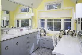 Grey And Yellow Bathroom Ideas Trendy And Refreshing Gray And Yellow Bathrooms That Delight