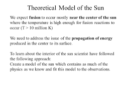 Temperature Of The Interior Of The Sun The Sun Astro 129 Chapter 1a The Solar Constant What Is The