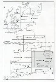York England Map Administrative Boundary Map Local Government Sheet 5 Northern