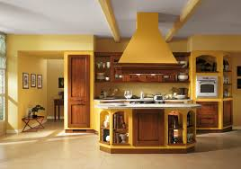 kitchen yellow italian kitchen color schemes for large kitchen