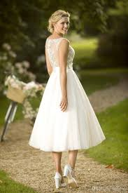 cheap 2017 new spring short lace country wedding dresses v neck