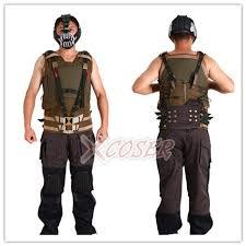 bane costume bane suit costume tdkr bane mask sale costumes