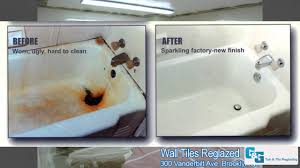 Bathroom Tile Refinishing by G U0026g Tub U0026 Tile Reglazing Our Work Photos Bathtub Reglazing