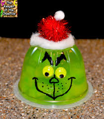 grinch jello fruit cups healthier christmas treat the keeper of