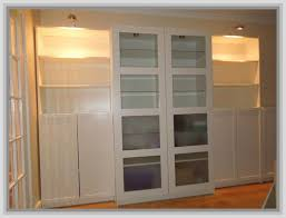 Glass Door Bookshelves by Bookcase With Glass Doors Bookcase With Door Ikea Billy Doors