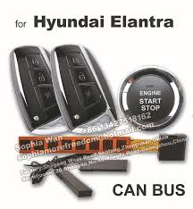 hyundai elantra alarm for hyundai elantra can pnp car alarm push button start smart